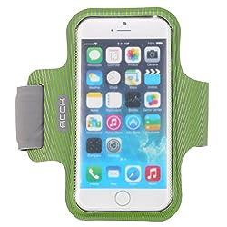 ROCK Sweatproof Sport Armband for Apple iPhone 6 - GREEN