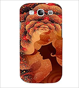 PrintDhaba Abstract Image D-4114 Back Case Cover for SAMSUNG GALAXY S3 (Multi-Coloured)