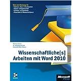 """Wissenschaftliche[s] Arbeiten mit Word 2010von """"Markus Hahner"""""""
