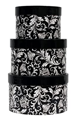 Premier Packaging AMZN-41153 3-Piece Nested Decorative Box Set