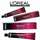 Loreal Professionel Professional Permanent Hair Colour Dye Majirel 50ml Tube 4,5,6,7,8,9,10 (7)