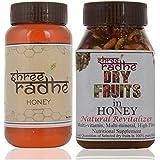 Shree Radhe Honey And Dryfruit Honey - 1 Kg (Combo Of 2)
