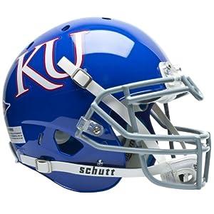 NCAA Kansas Jayhawks Authentic XP Football Helmet by Schutt