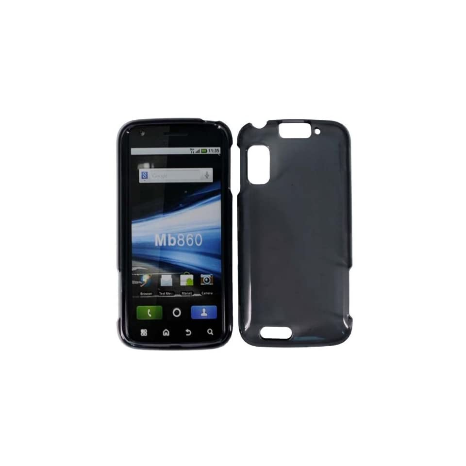 Smoke Hard Case Cover for Motorola Atrix 4g MB860 Cell Phones & Accessories
