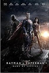 スーパーマンvsバットマン2015シルクポスター36×24 [並行輸入品]
