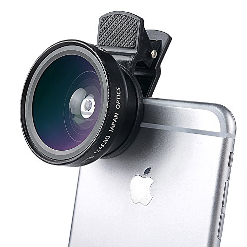 Miroha-Universal-HD-Camera-Professional-Lens-Kit-for-iPhone-6s-6s-Plus-6-5s-Mobile-Phone-with-Detachable-Wide-AngleMacro-Lens-045x-Wide-Angle-Lens-125x-Macro-Lens