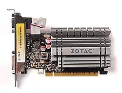 Zotac NVIDIA GeForce GT730 4GB DDR3 DVI VGA HDMI PCI-Express 2.0 (x8 Lanes) Low Profile Fanless Graphics Card ZT-71108-10L