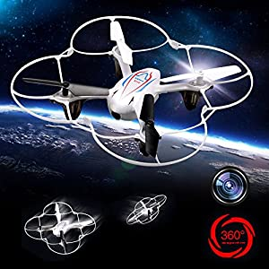 Syma X11C 2.4G 4 Channel 6 Axis Wireless Remote Control Quadcopter RC Helicopter With Gyro/ Flash Lights 360-degree 3D Helicopters and HD Camera