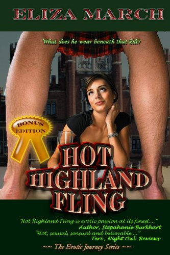 Hot Highland Fling (Erotic Journeys) by Eliza March