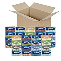 Kleenex Facial Tissue, 85 Count (Pack of 36)