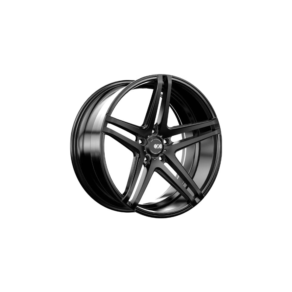 XO Caracas 20 Black Wheel / Rim 5x120 with a 30mm Offset and a 72.56 Hub Bore. Partnumber X233MQ5H30O72