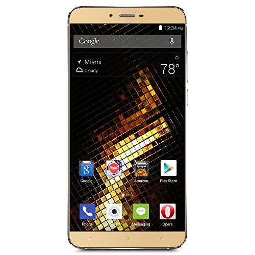 BLU VIVO 5 Smartphone -5.5″ 4G LTE GSM Unlocked – 32GB +3GB RAM – Gold