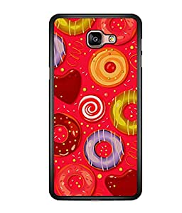 printtech Sweet Donut Candy Back Case Cover for  Samsung Galaxy A9 (2016)