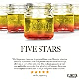 The Slinger - Mason Jar Shot Glasses with Lids | 5-Pack