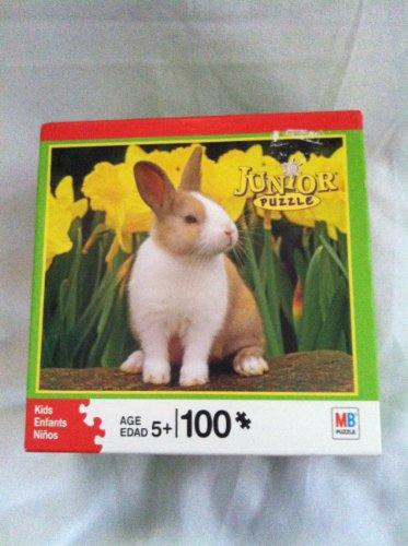100-Piece Junior Puzzle: Rabbit - 1