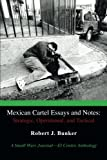 Robert J. Bunker Mexican Cartel Essays and Notes: Strategic, Operational, and Tactical: A Small Wars Journal-El Centro Anthology