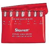 Starrett S555Z-7 Jewellers Screwdriver Set