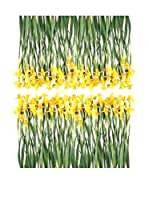 Ambiance-sticker Vinilo Decorativo Iris Flowers