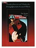 img - for Dvorak Glazunov And Tchaikovsky String Quartets Score And Parts CD Sheet Music book / textbook / text book