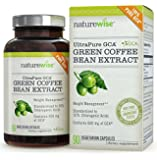 NatureWise UltraPure GCA Green Coffee Bean Extract for Weight Loss with 100% Pure GCA, 600 mg, 90 count