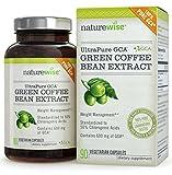 NatureWise UltraPure GCA Green Coffee Bean Extract Made With 100% Pure GCA, 90 Veggie Caps