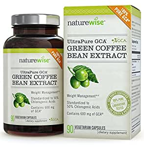 Amazon.com: NatureWise UltraPure GCA Green Coffee Bean ...