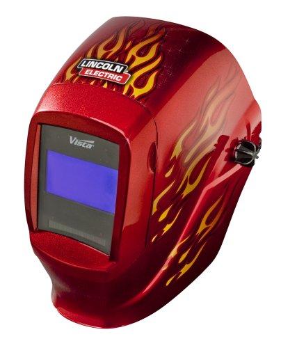 Lincoln Electric Vista 2000 Red Rod Welding Helmet K2603-5