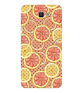 EPICCASE pulpy orange Mobile Back Case Cover For Samsung Galaxy J7 Prime (Designer Case)