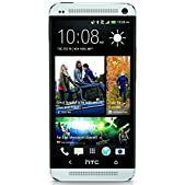 HTC One M7, 32GB, AT&T Unlocked, Silver - USED