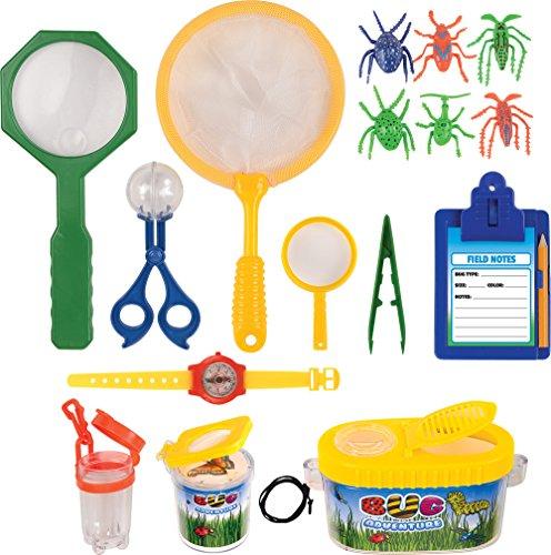Kangaroo's Insect Bug Adventure Set; 18 Pc Backyard Exploration Kit (Bug Houses For Kids compare prices)