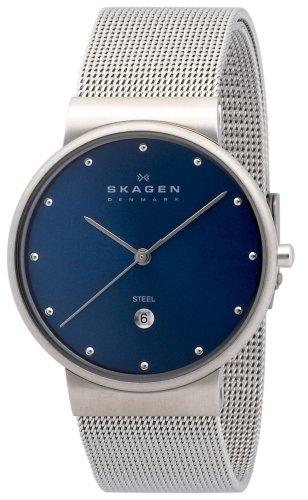 SKAGEN (スカーゲン) 腕時計 basic steel mens 355LSSN ケース幅: 34mm メンズ [正規輸入品]
