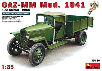 MiniArt 1/35 GAZ-MM Mod.1941 1.5t Cargo Truck # 35130