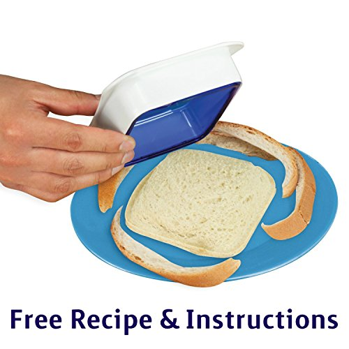 Affordable Sandwich Sealer n Decruster (color May Vary) (Sandwich Cutter And Decruster compare prices)
