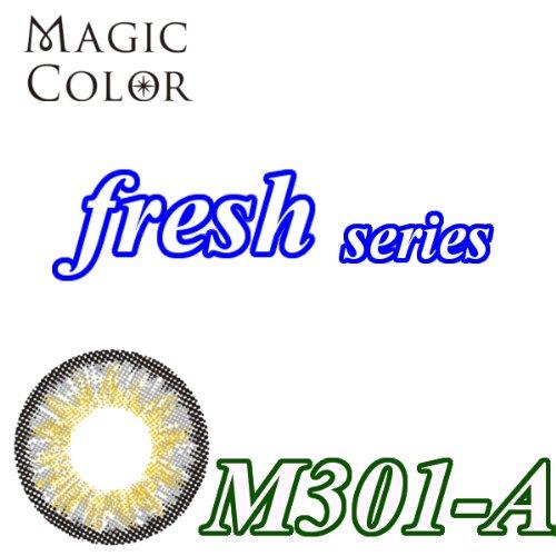 MAGICCOLOR (マジックカラー) fresh M301ーA 度なし 14.0mm 1ヵ月使用 2枚入り