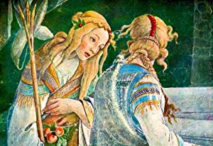 (13x19) Sandro Botticelli Sistine Chapel The Youth of Moses Detail 2 Art Print Poster