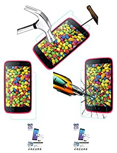 Acm Pack Of 2 Tempered Glass Screenguard For Gionee Elife E3 Mobile Screen Guard Scratch Protector