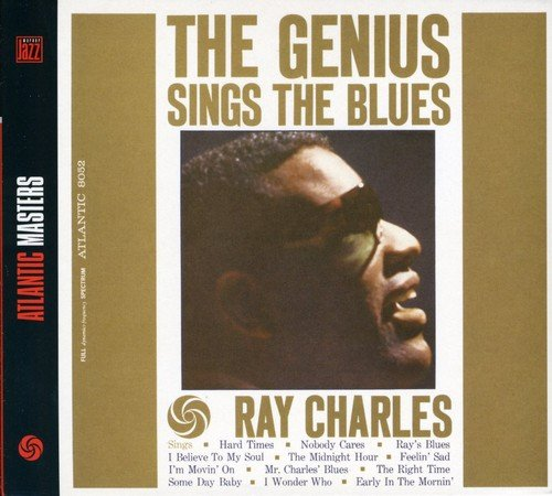 CD : Ray Charles - Genius Sings the Blues (Australia - Import, Holland - Import)
