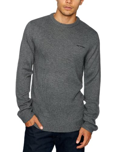 Animal Wills Men's Jumper Charcoal Marl X Large CL2WA074-J41-XL