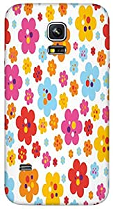 Timpax protective Armor Hard Bumper Back Case Cover. Multicolor printed on 3 Dimensional case with latest & finest graphic design art. Compatible with only Samsung Galaxy S5 mini. Design No :TDZ-21485