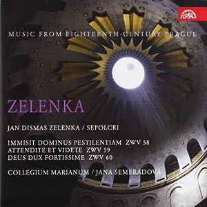 Zelenka: Sepolcri - Music 18th c. Prague