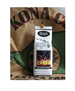 Hawaiian Isles Kona Coffee - Vanilla Macadamia Nut - 10 oz. by Hawaiian Isles Kona Coffee