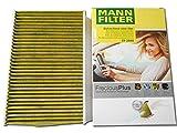 MANN 高性能エアコンフィルター (プジョー/307CC) FP 2940 (A307CC・M307CC・3CCRFJ 2004/02-2009/05) 天然ポリフェノール配合