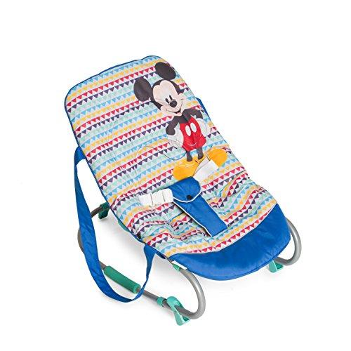 Hauck 620359 Rocky Mickey Geo Sdraietta per Neonati, Blu