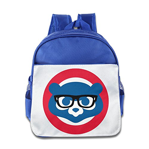 Boxer98 Custom Cool Glasses Cubs Bears Kids Children School Backpack For 1-6 Years Old RoyalBlue (Vacuum Pack Elite compare prices)
