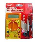 DT830D Small Digital Multimeter, Yellow Color: Amazon.in: Industrial & Scientific