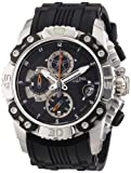 Festina Men's Bike 2011 Chronograph Watch F16543/4 with Rubber Strap and Black Dial