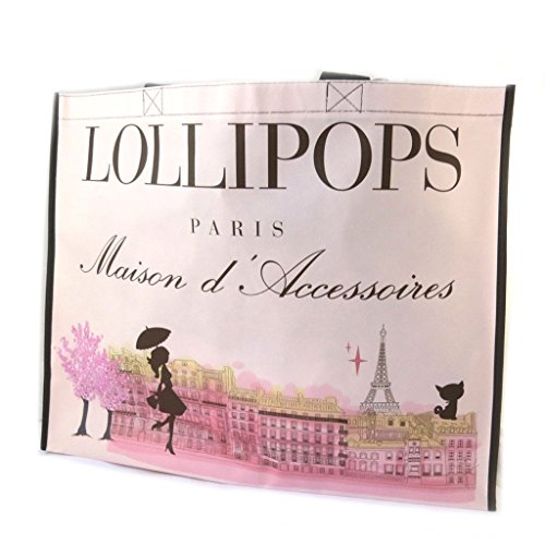 Shopping bag 'Lollipops'rose - 47.5x38x16 cm.