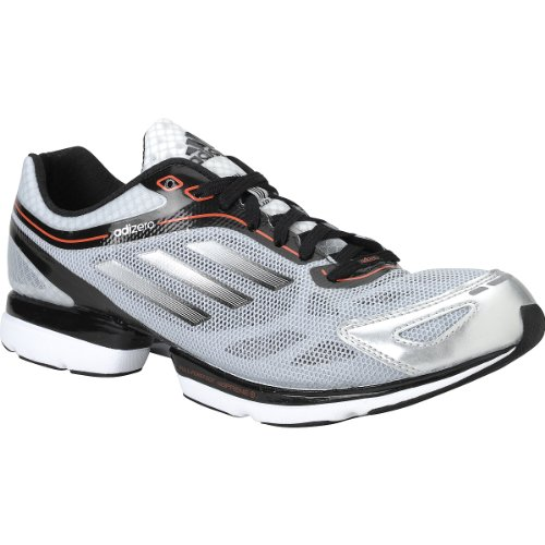 online store 39895 e97fc Mens Adidas adizero Rush Running Shoes Metallic Silver   Black   White  G48875 Size 8.5