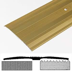 Bulk hardware tira separadora para moqueta aluminio for Barre de seuil large