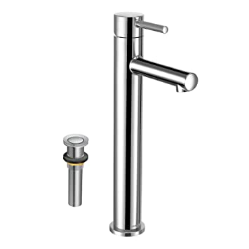 Moen K-6192CH Align 12-3/32-in Lavatory Faucet with Drain, Chrome